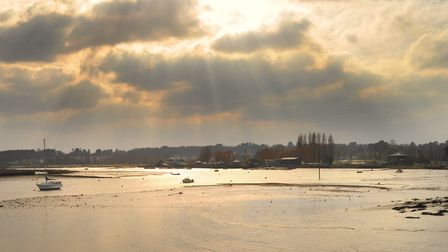 Woodbridge's Tide Mill in the afternoon sunshine. Picture: SARAH LUCY BROWN