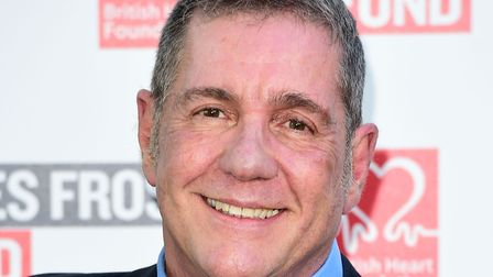 Dale Winton attending the Frost Summer Party Fundraiser in London. The presenter has died at the age