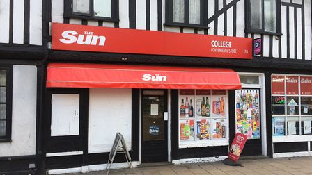 The College Convenience Store, on Fore Street. Picture: GREGG BROWN
