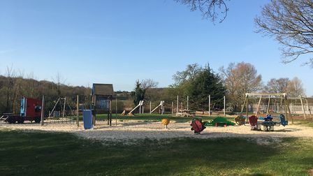 The play area in Bourne Park will be upgraded. Picture: IPSWICH BOROUGH COUNCIL