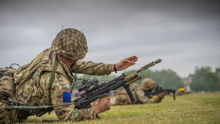 Armed forces training is taking place (stock image). Picture: CPL PETE BROWN
