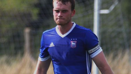 Chris Smith has captained Ipswich Town's Under-23s. Photo: Ross Halls