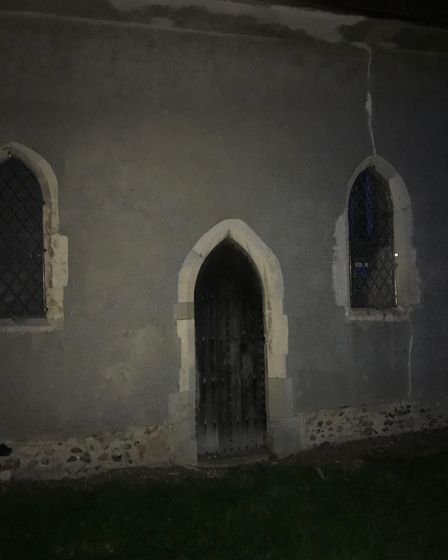 Readers picture, Ethan Perry, can you see the figure in the window? Picture: ETHAN PERRY
