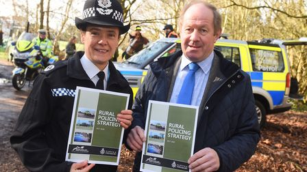 The Office of the Police and Crime Commissioner launching its rural policing strategy. Rachel Kearto
