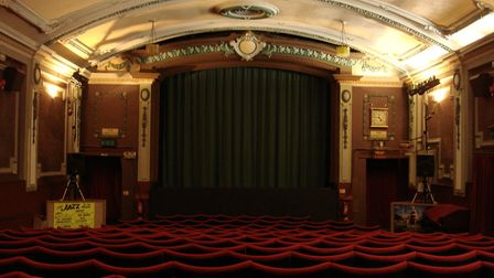Inside the Electric Palace Cinema, Harwich. Picture: NICHOLAS JACOB ARCHITECTS