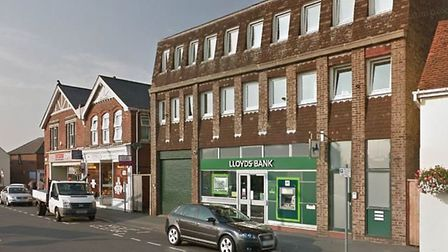 Lloyds branch in Brightlingsea is set to close in October this year. Picture: GOOGLEMAPS