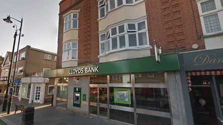 Lloyds branch in Frinton is set to close in October this year. Picture: GOOGLEMAPS