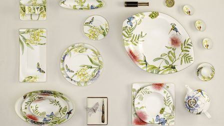 Amazonia Collection of Tableware, Villeroy & Boch. Picture: PA Photo