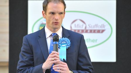Dr Dan Poulter was cleared by the Tory party panel. Picture: SARAH LUCY BROWN