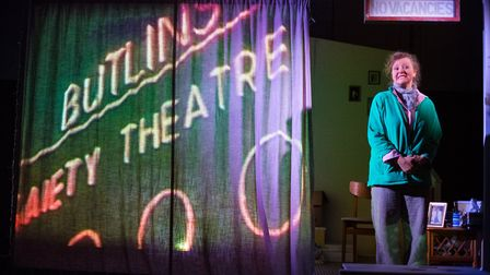 Amanda Bellamy as Val in Eastern Angles spring tour Guesthouse. Photo: Mike Kwasniak