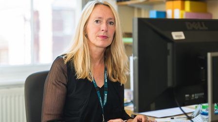Julie Cave, outgoing chief executive at the Norfolk and Suffolk NHS Foundation Trust (NSFT). Picture