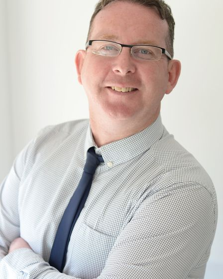 Peter Devlin, operations director for Suffolk. Picture: NSFT