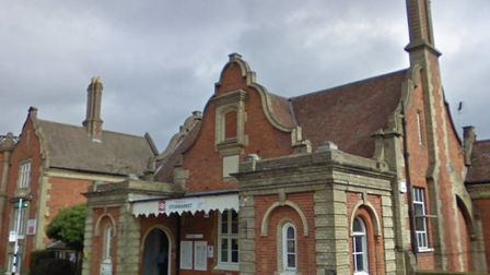 Signalling problems at Stowmarket are causing delays tonight. Picture: GOOGLE MAPS