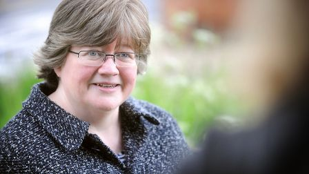 Therese Coffey is backing the new littering fines. Picture: GREGG BROWN