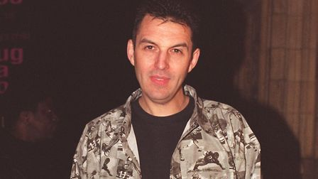 DJ Tim Westwood pictured at London's Royal Albert Hall for the MOBO (Music Of Black Origin) Awards.