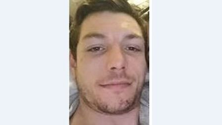 Daniel Dale has been reported missing from Haverhill. Picture: SUFFOLK CONSTABULARY