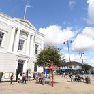 Sudbury Town Hall. Picture: GREGG BROWN
