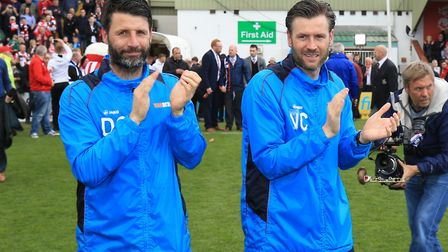 Lincoln City managerial duo Danny and Nicky Cowley remain favourites for the Ipswich vacancy.