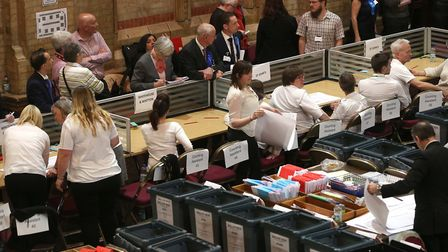 Politicians will be back at Ipswich Corn Exchange for the election count next month. Picture : RICHA