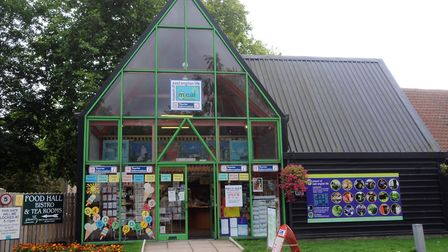 The Stowarket tourist information centre is in the entrance to the Museum of East Anglian Life. Pict