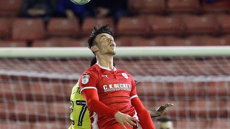 Kieffer Moore returns to Portman Road with Barnsley this evening. Picture: FOCUSIMAGES