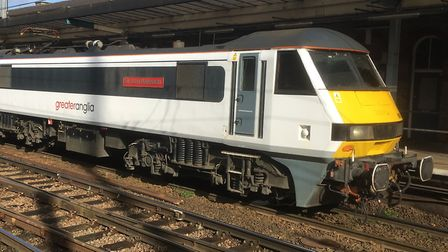 Greater Anglia services have been disrupted (stock image). Picture: PAUL GEATER