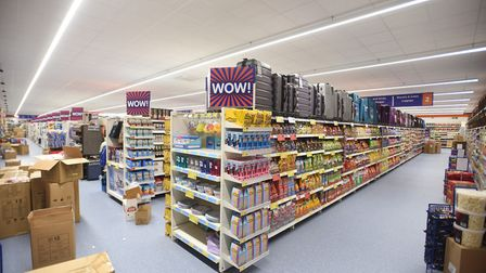 Behind the scenes at B&M Home Store in Bury St Edmunds. Picture: GREGG BROWN