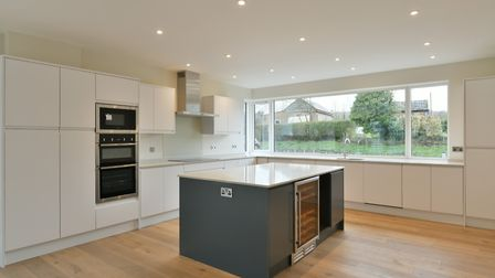Pearcroft is very modern and spacious. Picture: BEDFORDS