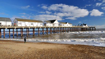 Southwold shore. Picture: MICK HIGHNAM