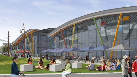 Work is due to start on the Northern Gateway this summer. Picture: TURNSTONE ESTATES/CMP ARCHITECTS