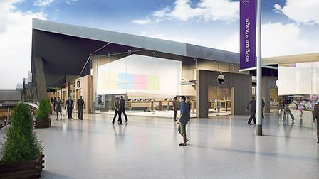 Tollgate Village has been granted planning permission. Picture: TOLLGATE PARTNERSHIP