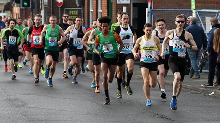 The Sudbury Fun Run saw 514 participants this year. Picture: ANDY HOWES