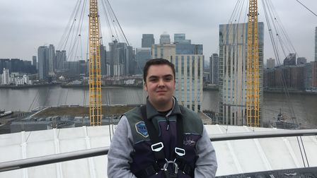 Joshua Williams, who is looking for sponsors for his expedition to Borneo. Picture: CONTRIBUTED