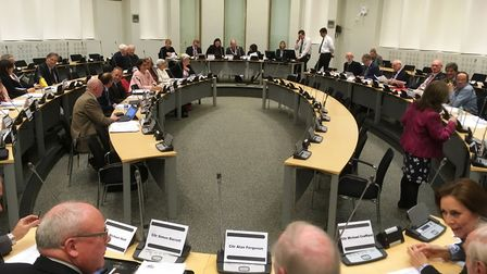 Babergh councillors now meet at Endeavour House in Ipswich. Picture: PAUL GEATER