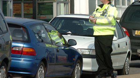 A new survey found that nearly 30% of drivers in the East would contest a parking ticket. Picture: