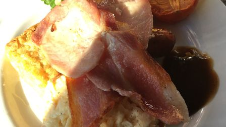 A full English was part of a two-course breakfast. Picture: ELLIS BARKER
