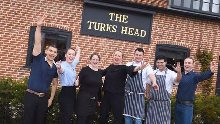 The Turks Head has been named Best Pub in Suffolk. Picture: GREGG BROWN
