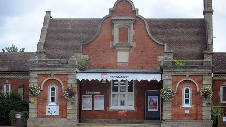 Stowmarket Railway Station. Picture: PHIL MORLEY