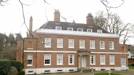 The Old Rectory house in Sible Hedingham. Picture: SU ANDERSON