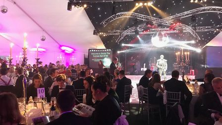 Thousands of people turned out for the Guineas Ball in Newmarket. Picture: MY WISH CHARITY