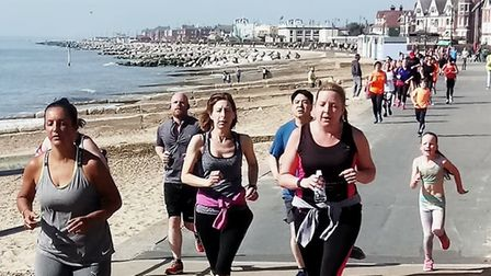 Weather conditions were excellent for the latest Felixstowe parkrunm held on the promenade on Saturd