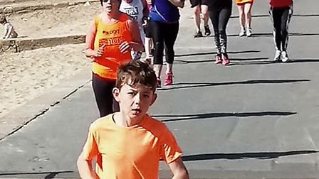 Young and old took part in Saturday's Felixstowe parkrun. It was the sixth staging of the event. Pic