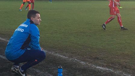 Braintree Town manager Brad Quinton who has guided his side back to he National League.