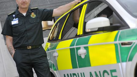 Robert Morton, chief executive of the East of England Ambulance Service. Picture: SU ANDERSON