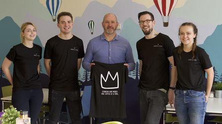 Touchline Sports has a new partnership with The Mix, Stowmarket. Jamie Warner managing director of T