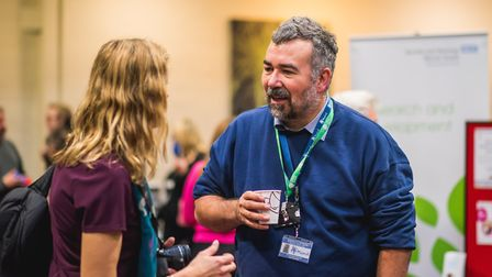 The Trust will be hosting the conference in July. Pictured is Richard Gorrod, NSFT Service User Gove