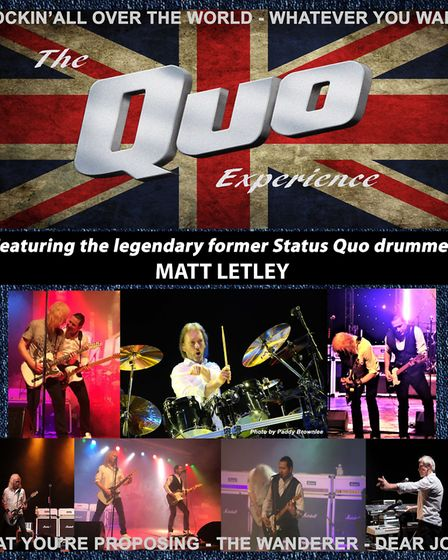 The Quo Experience is coming to the Spa Pavilion, Felixstowe. Picture: THE QUO EXPERIENCE