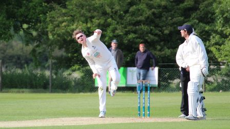 Slow left-armer Jack Beaumont, who took four for 33 off his 10 overs in Copdock & OI's defeat to Vau