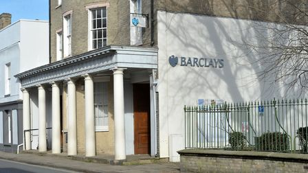 Barclays Bank on Hadleigh's High Street is set to close on June 1. Picture: SARAH LUCY BROWN