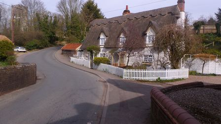 Thatched cottages on the walk route. Picture: CHRIS BARKER